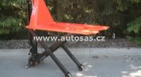 Vysokozdvižný nůžkový paletový vozík SASPARTS TP 15/800