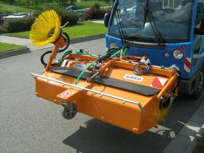 Road sweeper MZS 145 K with sprinkler NCS - NEW