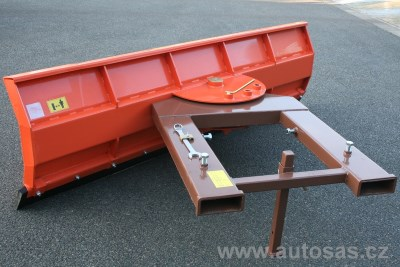 Snow plough for forklifts SASPARTS PROFI 2450
