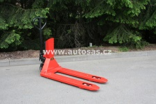 Hand pallet truck with scale RAVAS 2100L - NEW