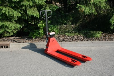 RAVAS 1100 hand pallet truck with weight scale - NEW